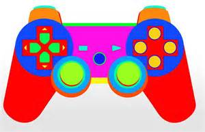 Game Controller Drawing