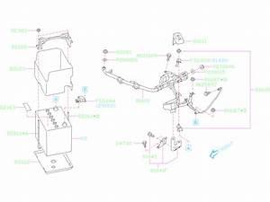 2019 Subaru Forester Rod-battery Fix  Equipment  Electrical
