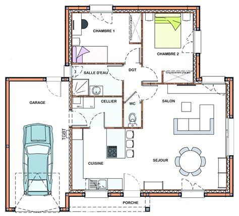 plan de cuisine ouverte plan cuisine en l luxe plan cuisine ouverte sur salon