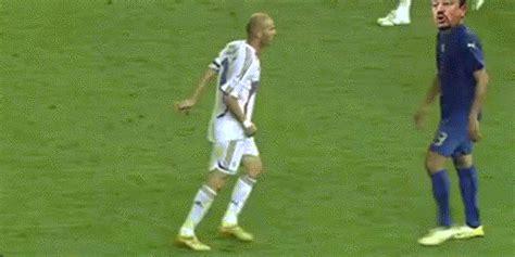 foot ball football zinedine zidane coup de boule zizou