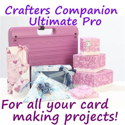 Crafter's Companion The Ultimate Pro Card Making Embossing