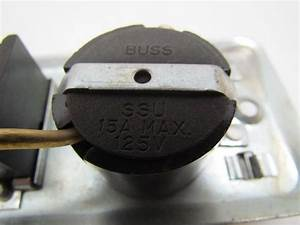 Buss Fustat Ssu Fuse Holder With Switch For 2 1  4 U0026quot Wide