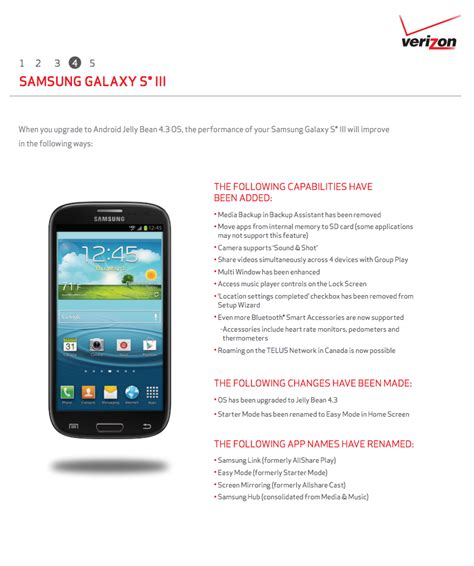 verizon wireless help android 4 3 update rolling out to verizon galaxy s3 users