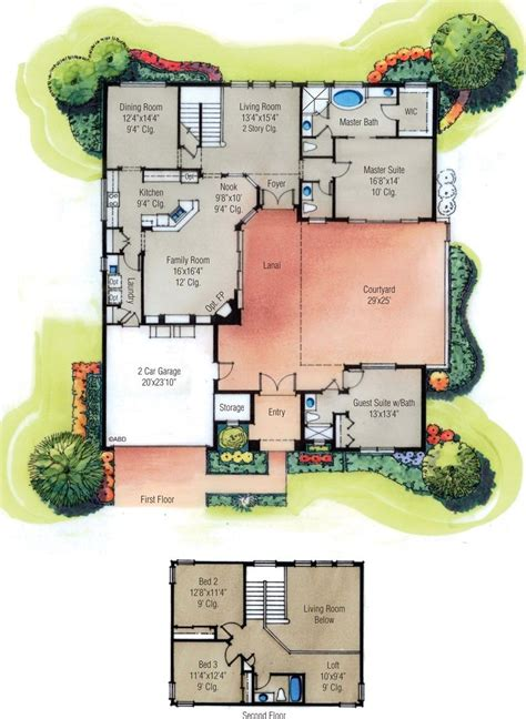 mexican house plans  courtyard arts  pictures floor plan beauteous mexico style nice