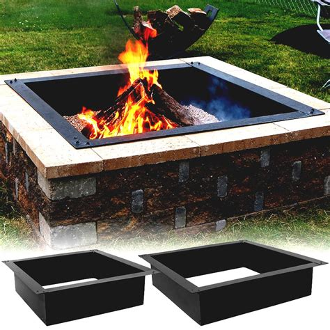 square pit liner sunnydaze square heavy duty pit liner cool garden ideas