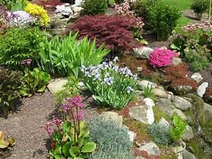 Schöne Gärten Anlegen : natursteingarten anlegen sch ne ideen f r die gestaltung ~ Markanthonyermac.com Haus und Dekorationen
