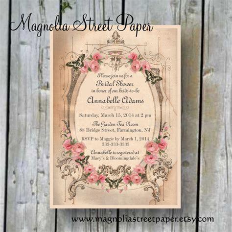 printable bridal shower invitation custom printable