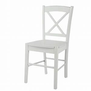 Chaise Bistrot Maison Du Monde : chaise en h v a blanche newport maisons du monde ~ Melissatoandfro.com Idées de Décoration