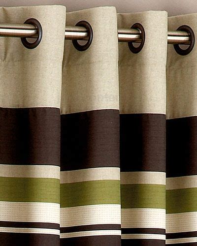 Green And Brown Shower Curtains shower curtain olive green yale green brown striped