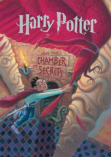 harry potter book cover chamber  secrets mightyprint