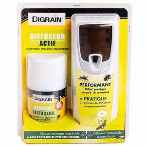 Diffuseur Anti Moustique Naturel : diffuseur anti moustique mouche moucheron digrain eradicateur ~ Mglfilm.com Idées de Décoration