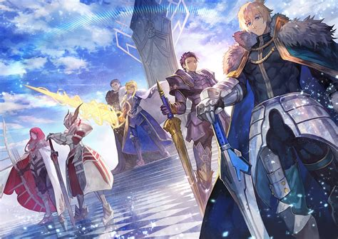 lancelot fategrand order hd wallpapers background
