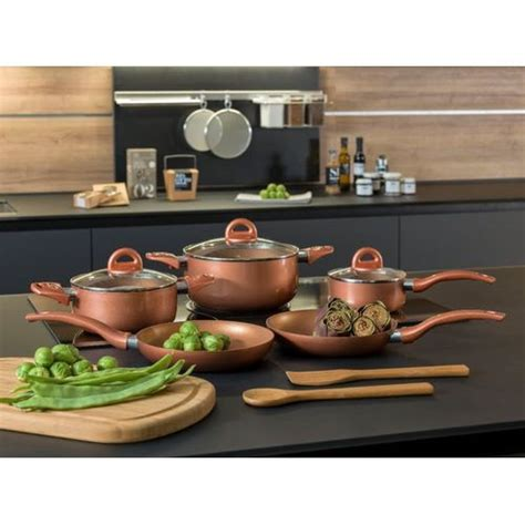 tognana copper range cookware set  piece kitchen home buy   south africa