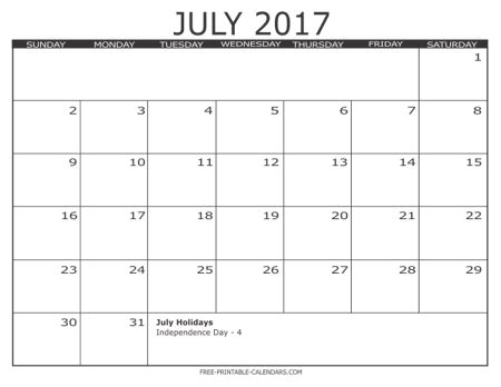 Free Calendar Template 2017 2017 Free Printable Calendars Free Printable Calendars