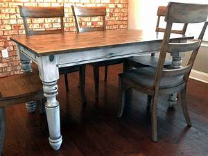 Laura Country Farmhouse Table