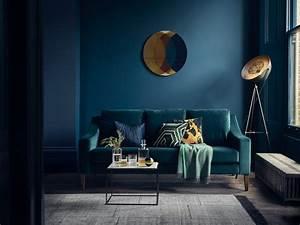 Deco Bleu Petrole : chambre bleu ptrole trendy chambre peinte la peinture des ~ Farleysfitness.com Idées de Décoration