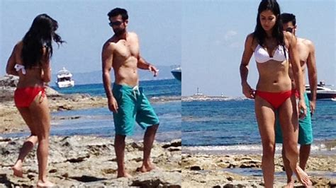 spain actress kiss katrina kaif in swimsuit this hot and viral picture of