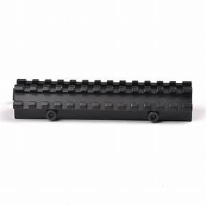 Tactical Riser Mount Quick Detach Double Rail 20mm
