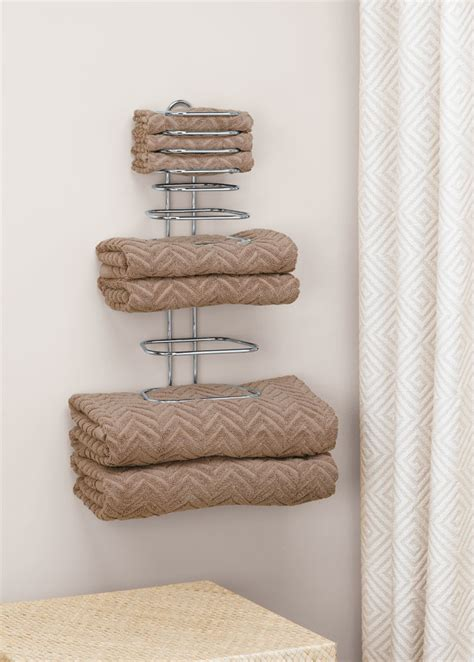 folded towel rack  wall towel racks