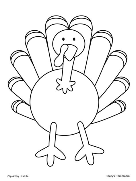 turkey template it s turkey time freebie hooty s homeroom