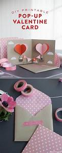 DIY Valentine Pop-Up Card | Patterns, Card patterns and ...