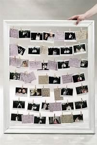 Idee Für Fotowand : diy hochzeit g stebuch selbst gestalten polaroid vintage flair polaroid foto hochzeit ~ Markanthonyermac.com Haus und Dekorationen