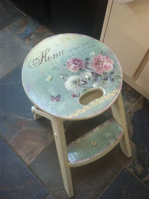 country kitchen pictures wooden stool style shabby vintage chic kitchen seat