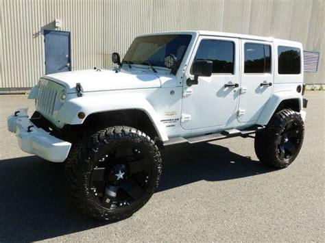 jeep wrangler 4 door for sale