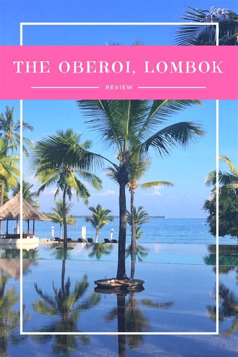 The Oberoi Hotel In Lombok, Indonesia