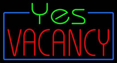 Vacancy Neon Yes Signs Animated Every
