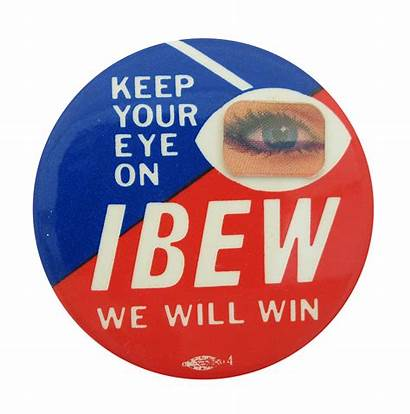 Ibew Button Beaver Museum Busy Win Keep
