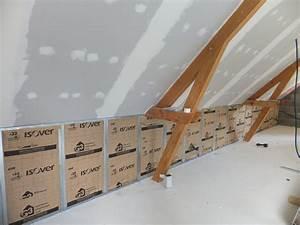Laine De Verre Gr32 100mm : technique disolation de toiture par lexterieur quimper ~ Dailycaller-alerts.com Idées de Décoration