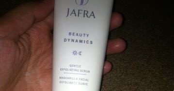 jafra gentle exfoliating scrub review