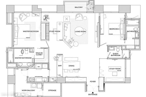 modern homes floor plans interior design trends in two modern homes with