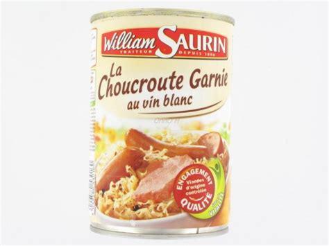 comment cuisiner la choucroute crue choucroute conserve régime pauvre en calories