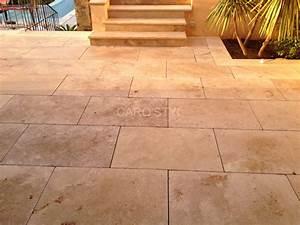 Terrasse En Mosaique : pose travertin salle de bain great superbe pose carrelage ~ Zukunftsfamilie.com Idées de Décoration