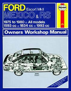 Haynes Manual Ford Escort Mk2 Mexico Rs 1800  U0026 Rs 2000 75