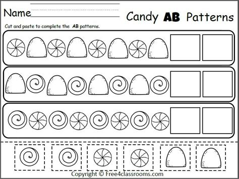 pattern worksheets cut and paste 1000 ideas about cut and paste on students