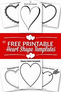 Superhero Outlines Templates Free Printable Large Heart Shape Templates Simple