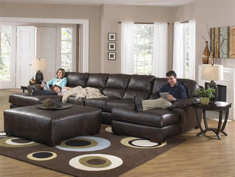 Jackson Furniture Lawson Two Chaise Sectional Sofa With