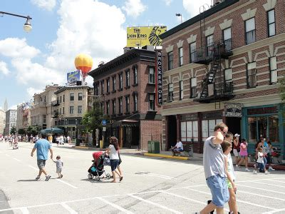 gabes chronicles  disney world hollywood studios streets  america