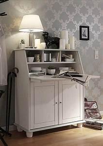 Türen Landhausstil Weiß : sekret r kiefer massiv wei lackiert mit 2 t ren ~ Michelbontemps.com Haus und Dekorationen