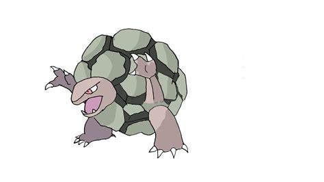 How To Draw Golem (pokemon)