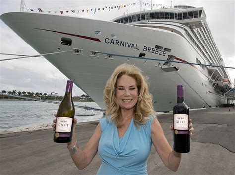 paul newman kathie lee gifford kathie lee gifford carnival cruise line news