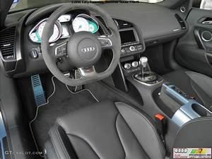Black Interior 2012 Audi R8 GT Spyder Photo #68651578 ...