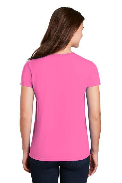 Gildan® - Ladies Ultra Cotton® 100% Cotton T-Shirt | 6-6.1 100% Cotton | T-Shirts | Online ...