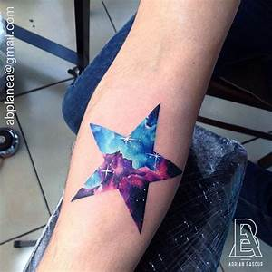 40 Artistic Galaxy Inspired Tattoo Designs