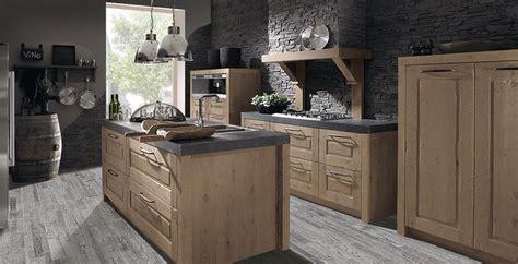 bp cuisine cuisine rustique melangé contemporain en bois avec sol