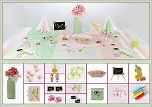 Tischdeko Schulanfang Ideen : tischdeko schulanfang in hellgr n und rosa tafeldeko ~ Avissmed.com Haus und Dekorationen