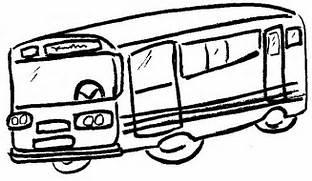 bus-drawing  Bus Drawing